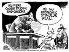Cartoonist Mike Peters  Mike Peters' Editorial Cartoons 2003-01-09 court