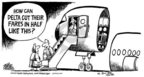 Cartoonist Mike Peters  Mike Peters' Editorial Cartoons 2005-01-10 cost