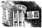 Cartoonist Mike Peters  Mike Peters' Editorial Cartoons 2003-01-11 house