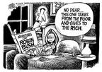 Cartoonist Mike Peters  Mike Peters' Editorial Cartoons 2003-01-12 George W. Bush economy
