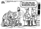 Cartoonist Mike Peters  Mike Peters' Editorial Cartoons 2005-01-13 Afghanistan