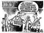 Cartoonist Mike Peters  Mike Peters' Editorial Cartoons 2004-01-16 emigration
