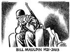 Cartoonist Mike Peters  Mike Peters' Editorial Cartoons 2003-01-25 World War II Memorial