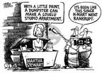 Cartoonist Mike Peters  Mike Peters' Editorial Cartoons 2002-01-27 home
