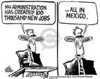 Cartoonist Mike Peters  Mike Peters' Editorial Cartoons 2004-01-30 relocation