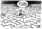 Cartoonist Mike Peters  Mike Peters' Editorial Cartoons 2005-01-30 turn