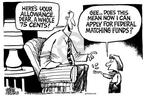 Cartoonist Mike Peters  Mike Peters' Editorial Cartoons 2004-01-31 public