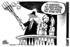 Cartoonist Mike Peters  Mike Peters' Editorial Cartoons 2005-02-03 turn