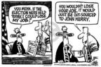 Cartoonist Mike Peters  Mike Peters' Editorial Cartoons 2004-02-12 relocation