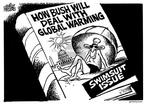 Cartoonist Mike Peters  Mike Peters' Editorial Cartoons 2002-02-21 climate