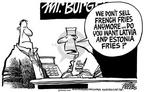 Cartoonist Mike Peters  Mike Peters' Editorial Cartoons 2003-02-22 customer