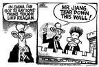 Cartoonist Mike Peters  Mike Peters' Editorial Cartoons 2002-02-23 chinese