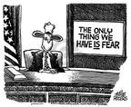 Cartoonist Mike Peters  Mike Peters' Editorial Cartoons 2003-02-27 inspiration