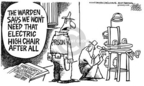 Cartoonist Mike Peters  Mike Peters' Editorial Cartoons 2005-03-05 supreme court decision