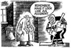 Cartoonist Mike Peters  Mike Peters' Editorial Cartoons 2004-03-14 ice