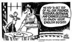 Cartoonist Mike Peters  Mike Peters' Editorial Cartoons 2003-03-21 house