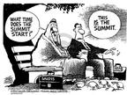Cartoonist Mike Peters  Mike Peters' Editorial Cartoons 2002-03-29 Saudi Arabia