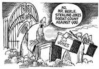 Cartoonist Mike Peters  Mike Peters' Editorial Cartoons 2002-03-30 salute