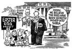 Cartoonist Mike Peters  Mike Peters' Editorial Cartoons 2003-04-18 house