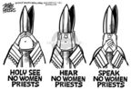 Cartoonist Mike Peters  Mike Peters' Editorial Cartoons 2005-04-22 religious discrimination