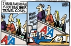 Cartoonist Mike Peters  Mike Peters' Editorial Cartoons 2008-05-21 travel