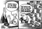 Cartoonist Mike Peters  Mike Peters' Editorial Cartoons 2002-05-23 data collection