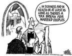 Cartoonist Mike Peters  Mike Peters' Editorial Cartoons 2003-05-25 tax