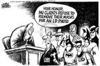 Cartoonist Mike Peters  Mike Peters' Editorial Cartoons 2003-05-30 court