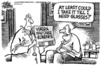 Cartoonist Mike Peters  Mike Peters' Editorial Cartoons 2005-05-31 Viagra