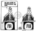 Cartoonist Mike Peters  Mike Peters' Editorial Cartoons 2002-06-05 Robert Mueller