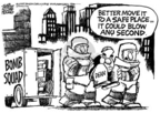 Cartoonist Mike Peters  Mike Peters' Editorial Cartoons 2005-06-12 politics