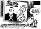Cartoonist Mike Peters  Mike Peters' Editorial Cartoons 2005-06-25 public