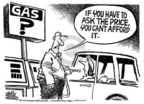 Cartoonist Mike Peters  Mike Peters' Editorial Cartoons 2005-06-26 cost
