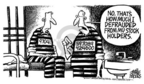 Cartoonist Mike Peters  Mike Peters' Editorial Cartoons 2005-07-15 convict