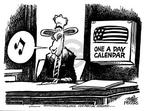 Cartoonist Mike Peters  Mike Peters' Editorial Cartoons 2003-07-17 white flag