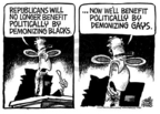 Cartoonist Mike Peters  Mike Peters' Editorial Cartoons 2005-07-17 politics