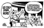 Cartoonist Mike Peters  Mike Peters' Editorial Cartoons 2002-07-19 ice