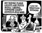 Cartoonist Mike Peters  Mike Peters' Editorial Cartoons 2003-07-19 Supreme Court