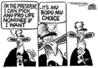 Cartoonist Mike Peters  Mike Peters' Editorial Cartoons 2005-07-23 pro-life