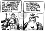 Cartoonist Mike Peters  Mike Peters' Editorial Cartoons 2005-07-24 Afghanistan