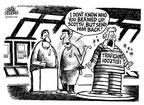 Cartoonist Mike Peters  Mike Peters' Editorial Cartoons 2002-07-27 house