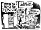 Cartoonist Mike Peters  Mike Peters' Editorial Cartoons 2001-08-01 relocation