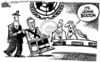 Cartoonist Mike Peters  Mike Peters' Editorial Cartoons 2005-08-04 diplomat