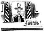 Cartoonist Mike Peters  Mike Peters' Editorial Cartoons 2002-08-16 house