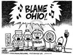 Cartoonist Mike Peters  Mike Peters' Editorial Cartoons 2003-08-24 sing