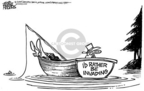 Cartoonist Mike Peters  Mike Peters' Editorial Cartoons 2005-08-25 public