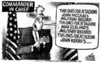 Cartoonist Mike Peters  Mike Peters' Editorial Cartoons 2004-08-27 courage