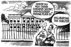 Cartoonist Mike Peters  Mike Peters' Editorial Cartoons 2002-09-16 house