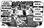 Cartoonist Mike Peters  Mike Peters' Editorial Cartoons 2001-09-28 safeguard