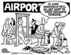Cartoonist Mike Peters  Mike Peters' Editorial Cartoons 2001-10-04 travel